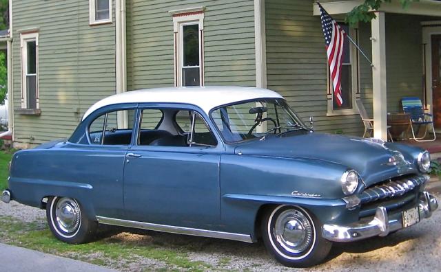 1952 Plymouth Cambridge 2dr