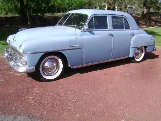 1952 Plymouth Cambridge 4dr