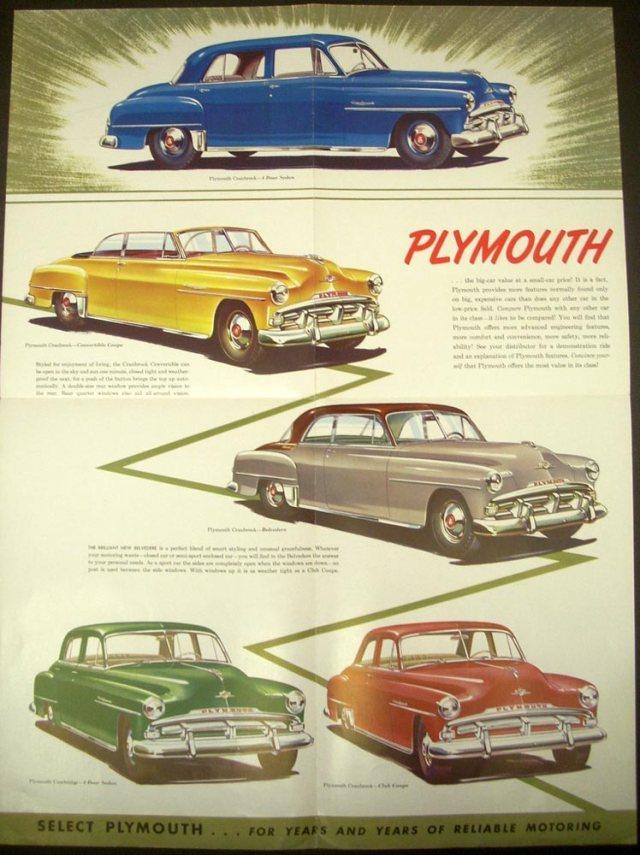 1952 Plymouth Cranbrook Cambridge Concord ORIGI