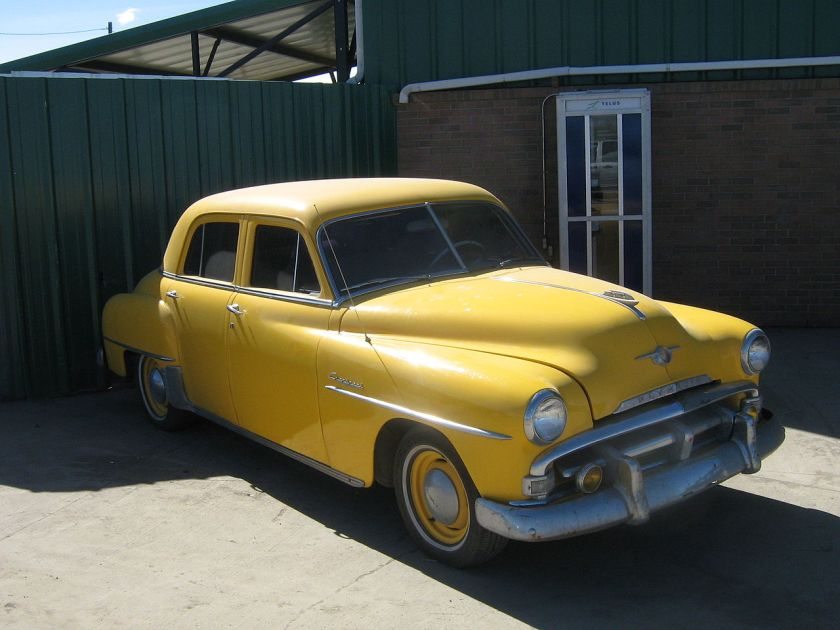 1952 Plymouth Cranbrook Four Door Sedan