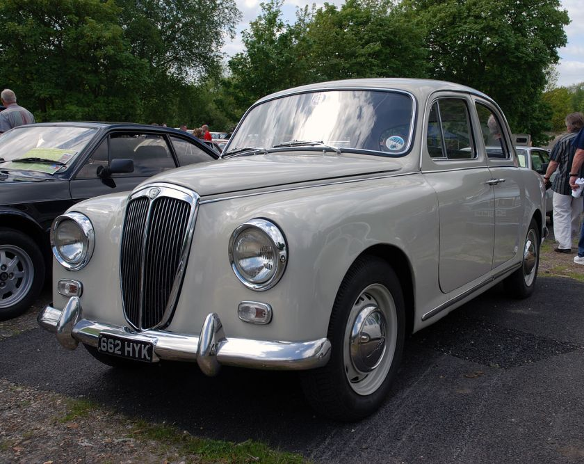 1953-63 Lancia Appia Berlina, second series