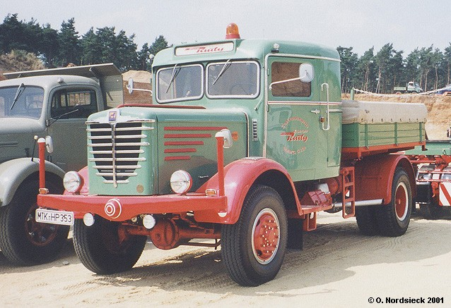 1953 Büssing 6000 A Zugmaschine