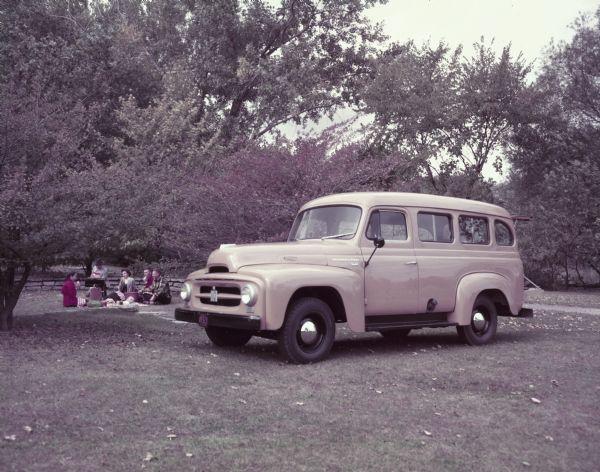 1953 International R-110 Station Wagon