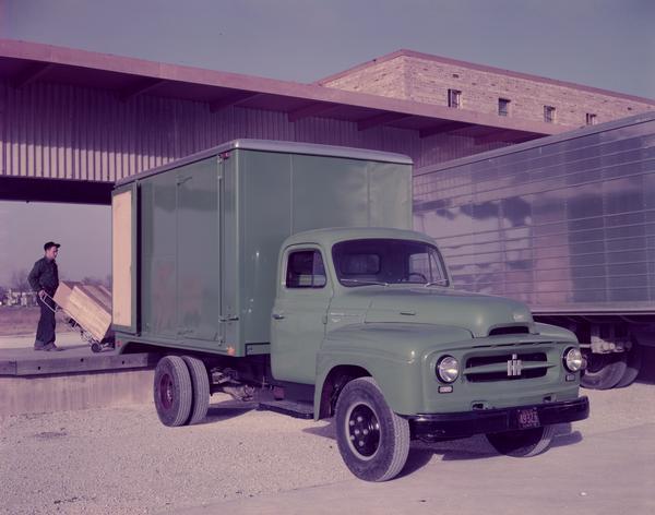 1953 International R-150 Truck with Van Body