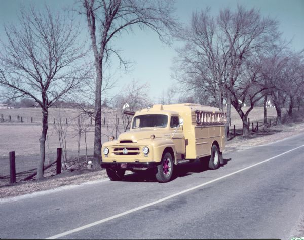 1953 International R-170 Truck with Ladder