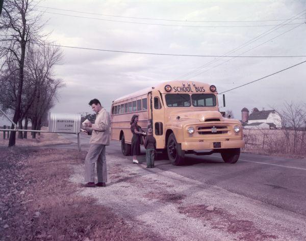 1953 International R-183 School Bus