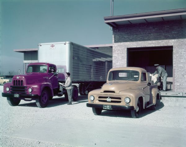 1953 International R-195 And R-120 Trucks