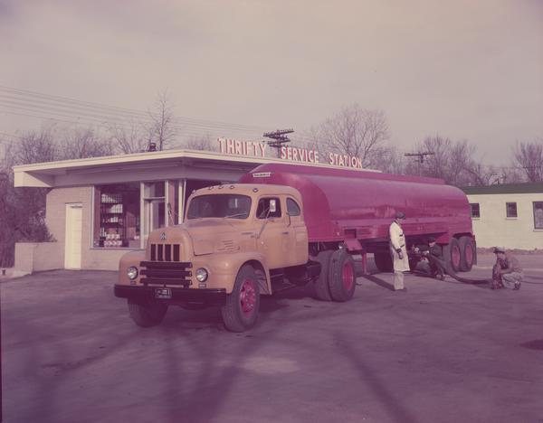 1953 International Roadliner Oil Tanker