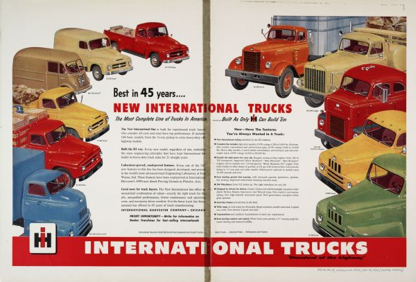 1953 International Truck Advertising Proof