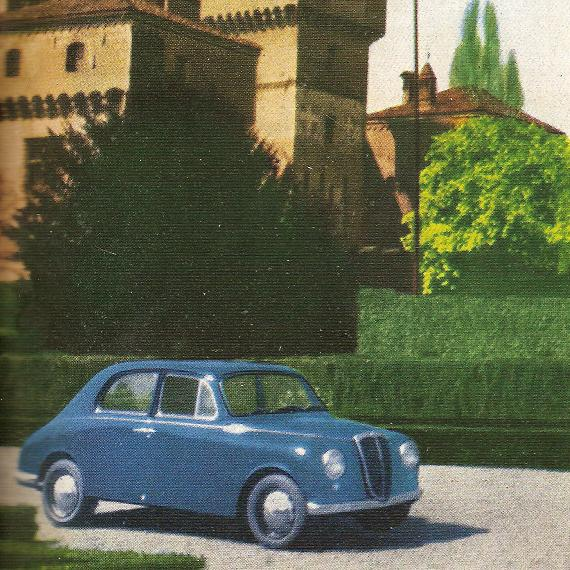 1953 Lancia Appia prima serie