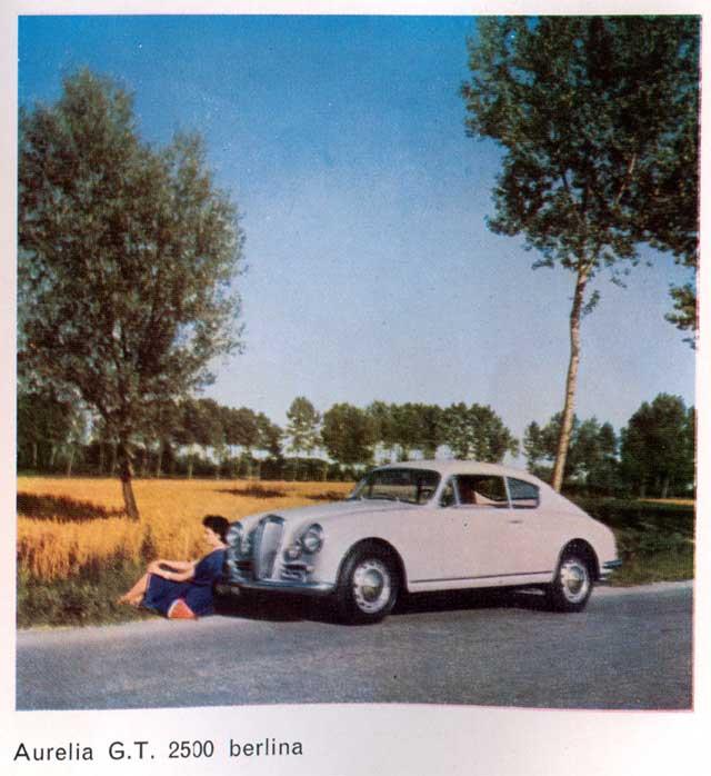 1953 lancia aurelia gt 2500 berl