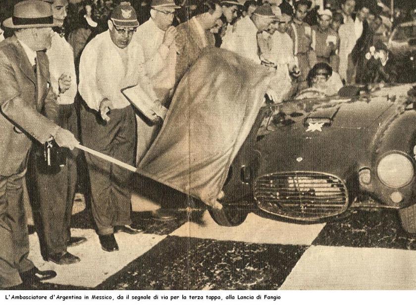 1953 Lancia Fangio Carrera Messicana