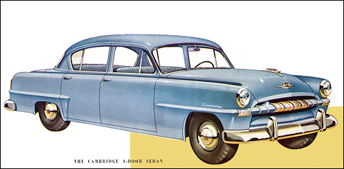 1953 plymouth 1953 cambridge sedan