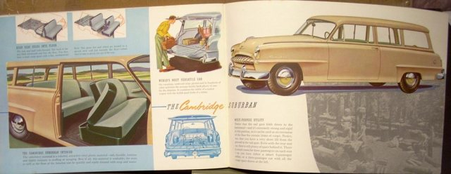 1953 Plymouth Cranbrook Cambridge Dealer Sales Brochure ORIGINAL