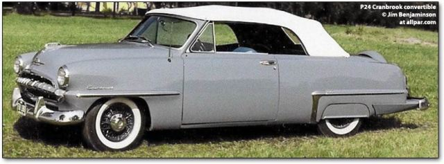 1953 Plymouth Cranbrook cars