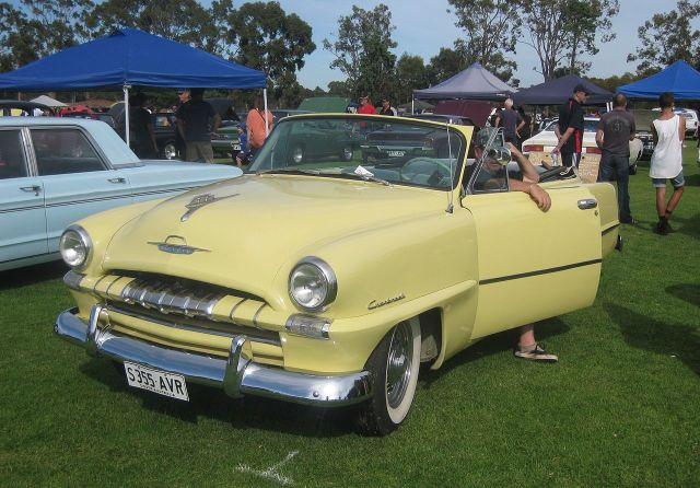 1953 Plymouth Cranbrook Convertible Club Coupe