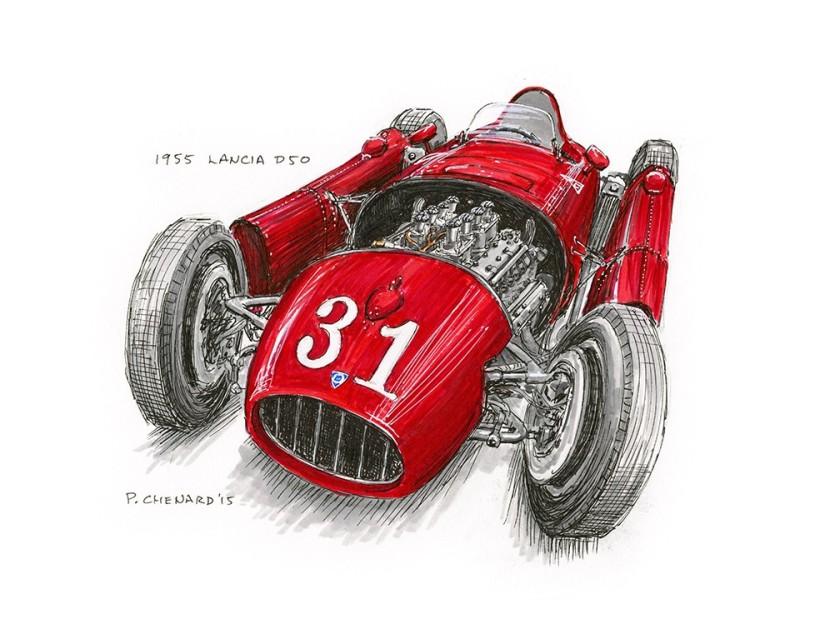 1954 Lancia D50 1