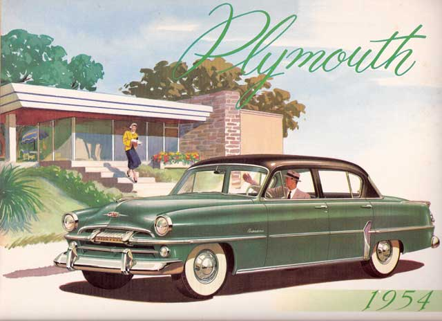 1954 plymouth a