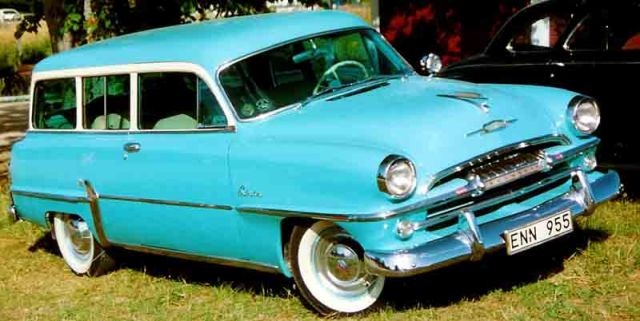 1954 Plymouth Belevedere Suburban Station Wagon 2-d