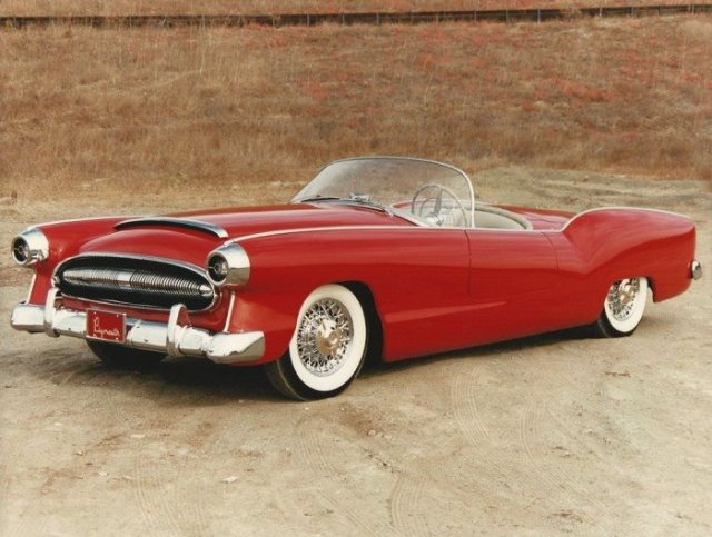 1954 Plymouth Belm.