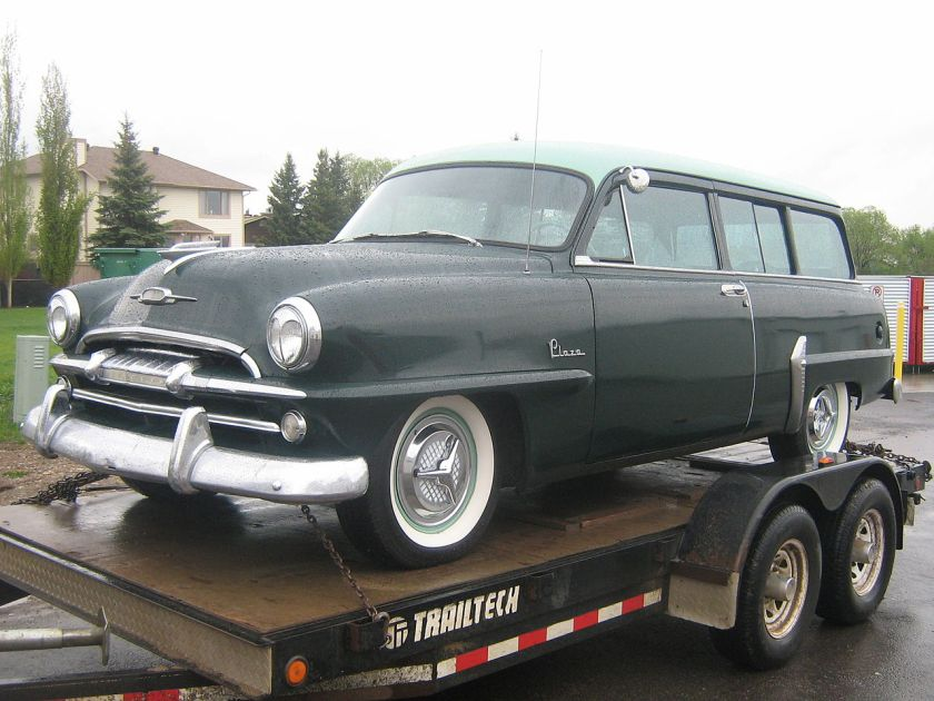 1954 Plymouth Plaza 2-door Suburban