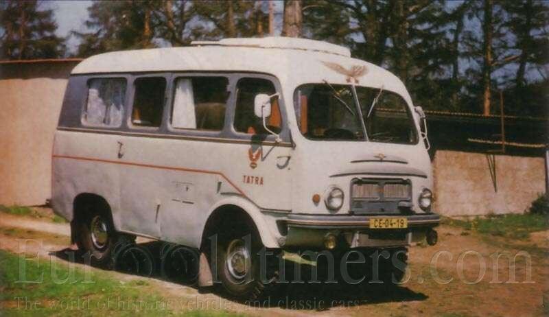 1954 Tatra 805 camper