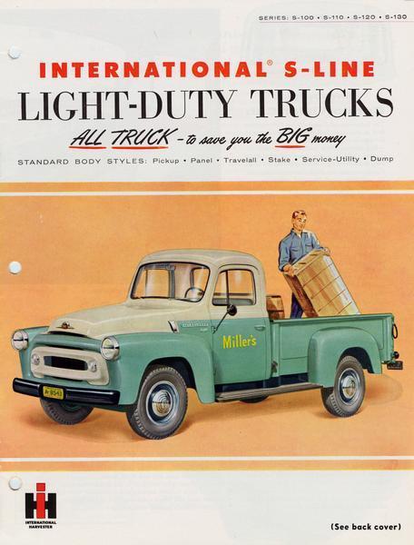 1955 International S-Line Light-Duty Trucks