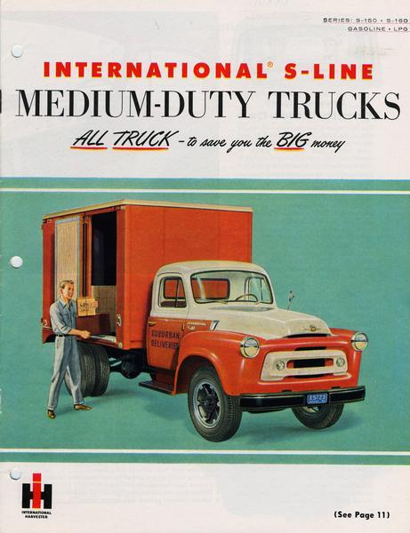 1955 International S-line Medium-Duty Trucks