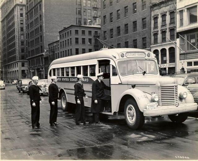 1955 International trucks coastguard