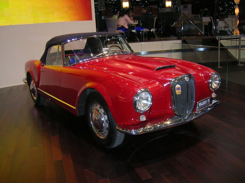 1955 Lancia Aurelia B24 Gran Turismo Convertible