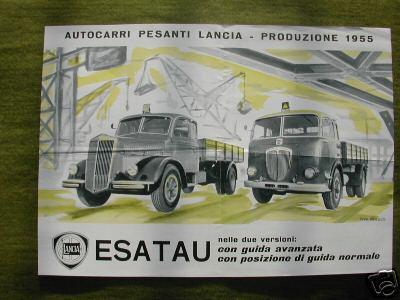 1955 Lancia Esatau autocarri