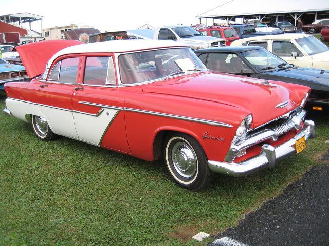 1955 Plymouth Belvedere 4dr Sedan