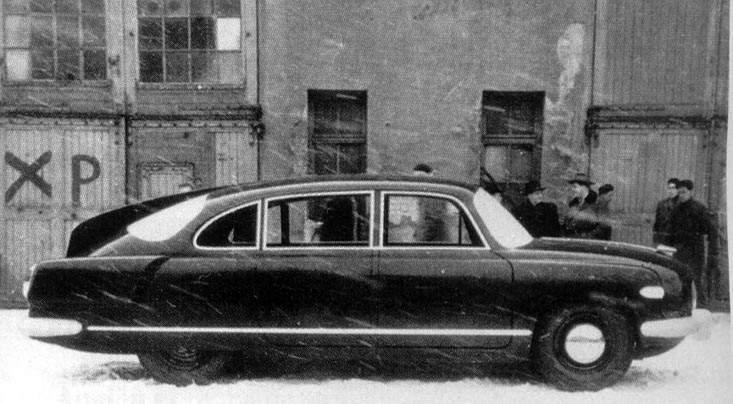 1955 Tatra 603 by Zdeněk Kovář (1955 mock-up)