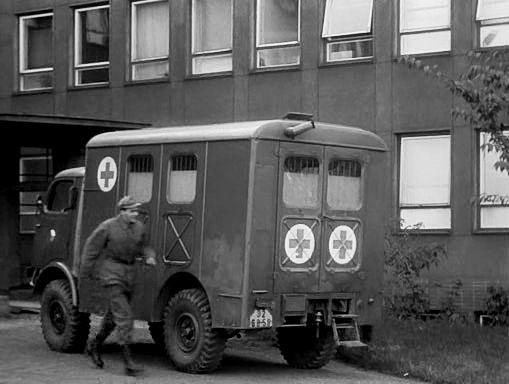 1955 Tatra 805 ambulance