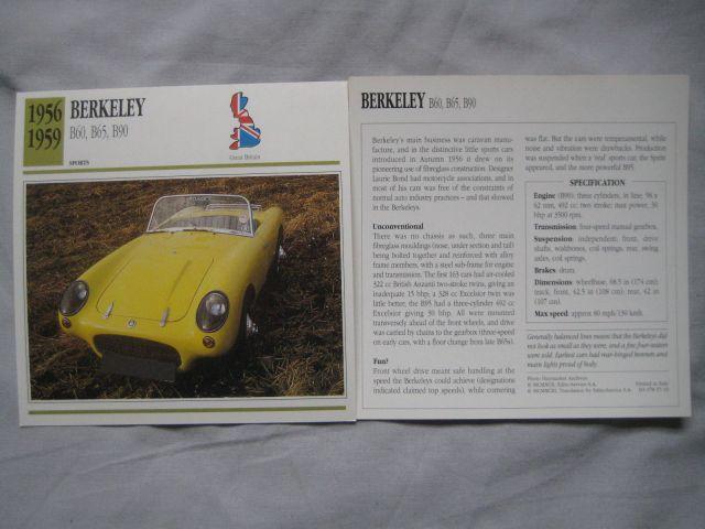 1956-59 Berkely Card