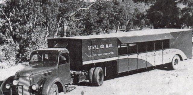 1956 International KS6 Coach