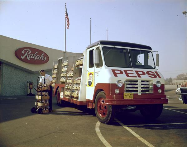 1956 International Metro Pepsi Delivery Truck
