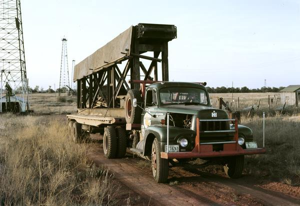 1956 International Model R-202 Oil Field Truck
