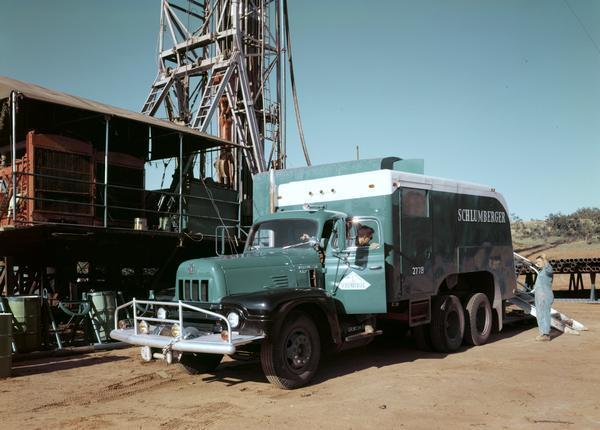 1956 International model RF-190 oil field truck