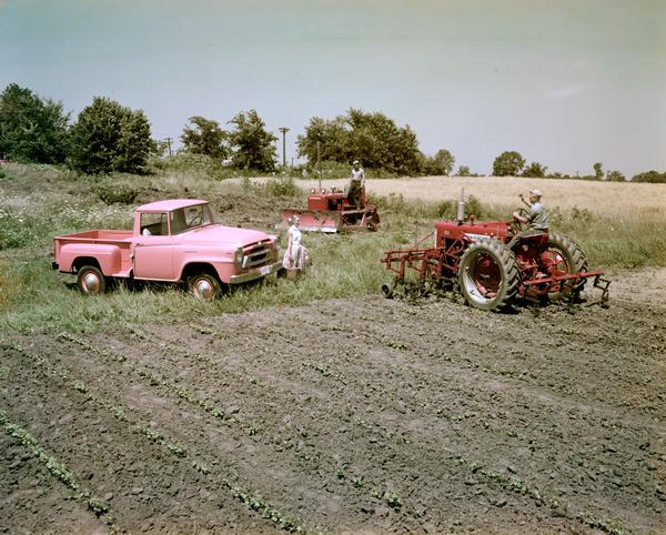 1956 International Tractors and Truck