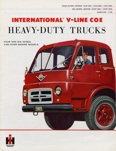 1956 International V-line COE Heavy-Duty Trucks
