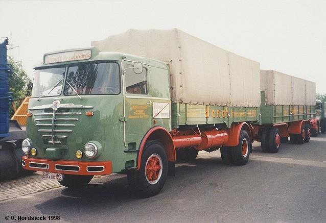 1957 Büssing LU 11-16 Pritschenlastzug