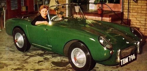 1957 Berkeley Deluxe Convertible