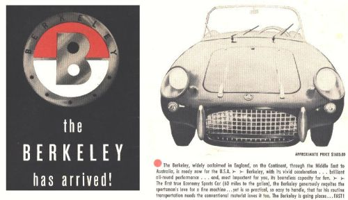 1957 Berkeley Sports USA
