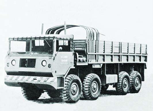 1957 International ХМ409, 8x8