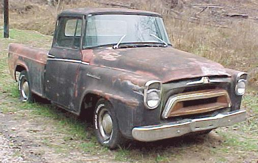 1957 International golden jubilee custom pickup