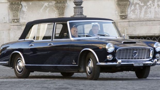 1957 Lancia Flaminia Cabrio limousine