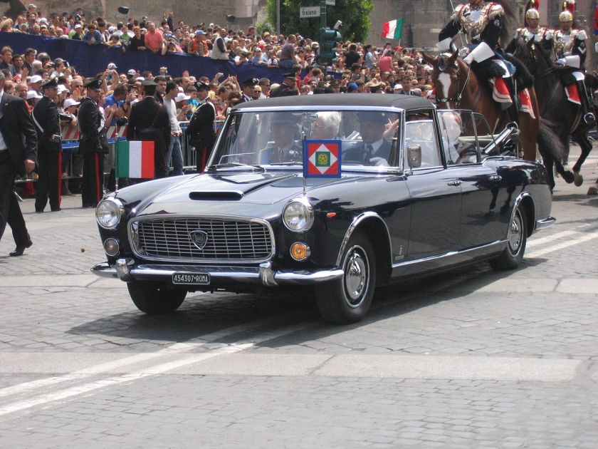 1957 Lancia Flaminia of the President of the Italian Republic
