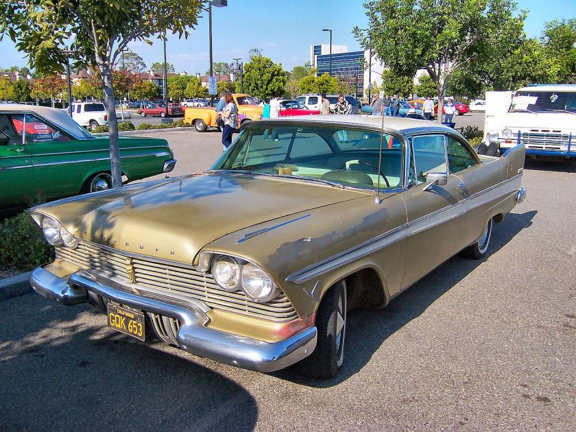 1957 Plymouth Belvedere a