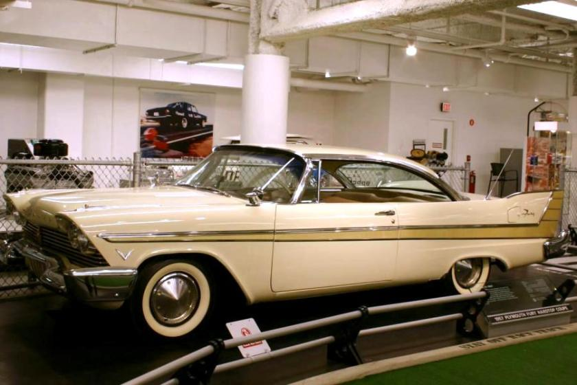 1957 Plymouth Fury Hardtop Coupe